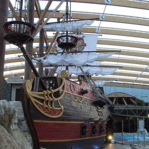 Loď pre Aquapark Tatralandia